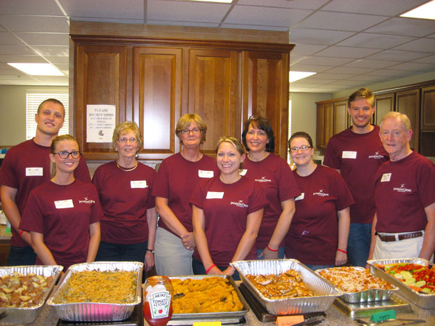 Jackson Cross Partners Volunteers for Event at Ronald