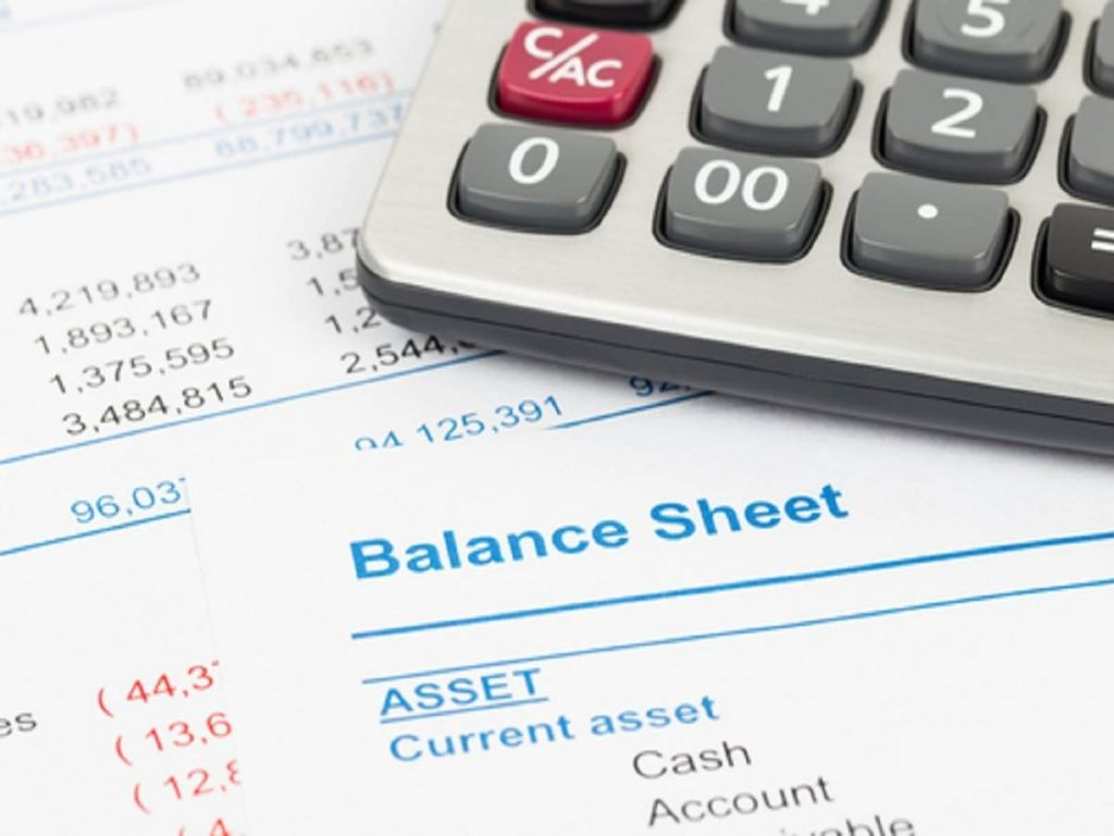 Balance Sheet - lease accounting