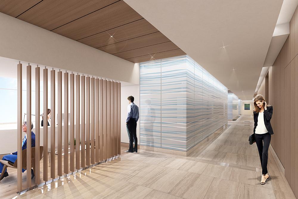 Tower Health Building 202 Corridor